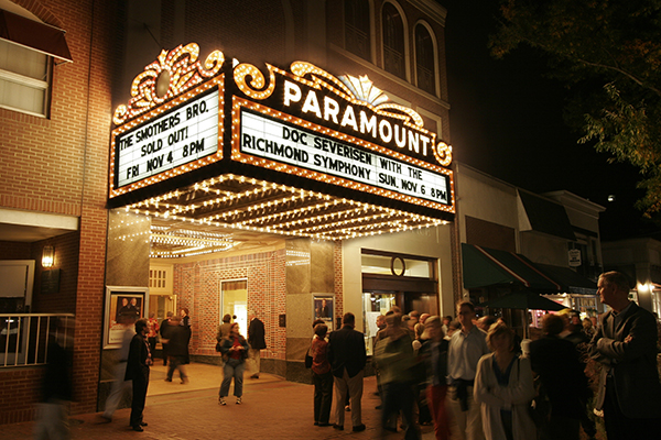The Paramount in Charlottesville
